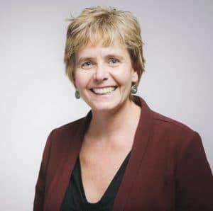 Nancy Helladie, 2018 Rae Hamlin Award winner.